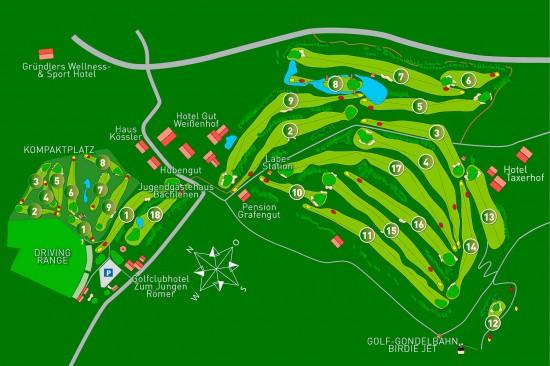 Golfhotel Taxerhof - Golfplatz Radstadt im Salzburger Land