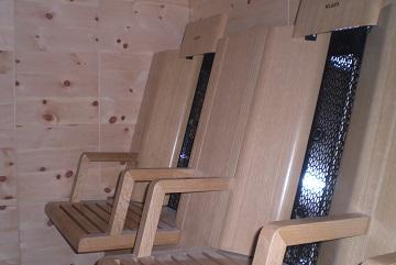 moderne infrarotkabine aus zirbenholz taxerhof. Black Bedroom Furniture Sets. Home Design Ideas