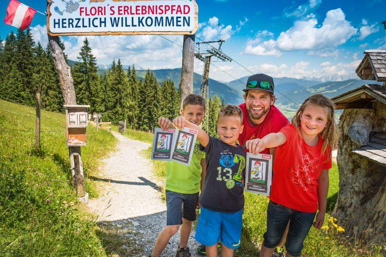 Flori's Erlebnispfad in Flachau