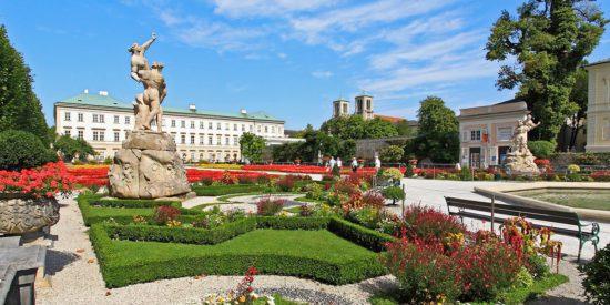 Hotel Taxerhof - Ausflugsziele - Mirabellgarten