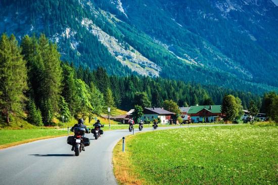 Hotel Taxerhof in Radstadt im Salzburger Land Motorradurlaub