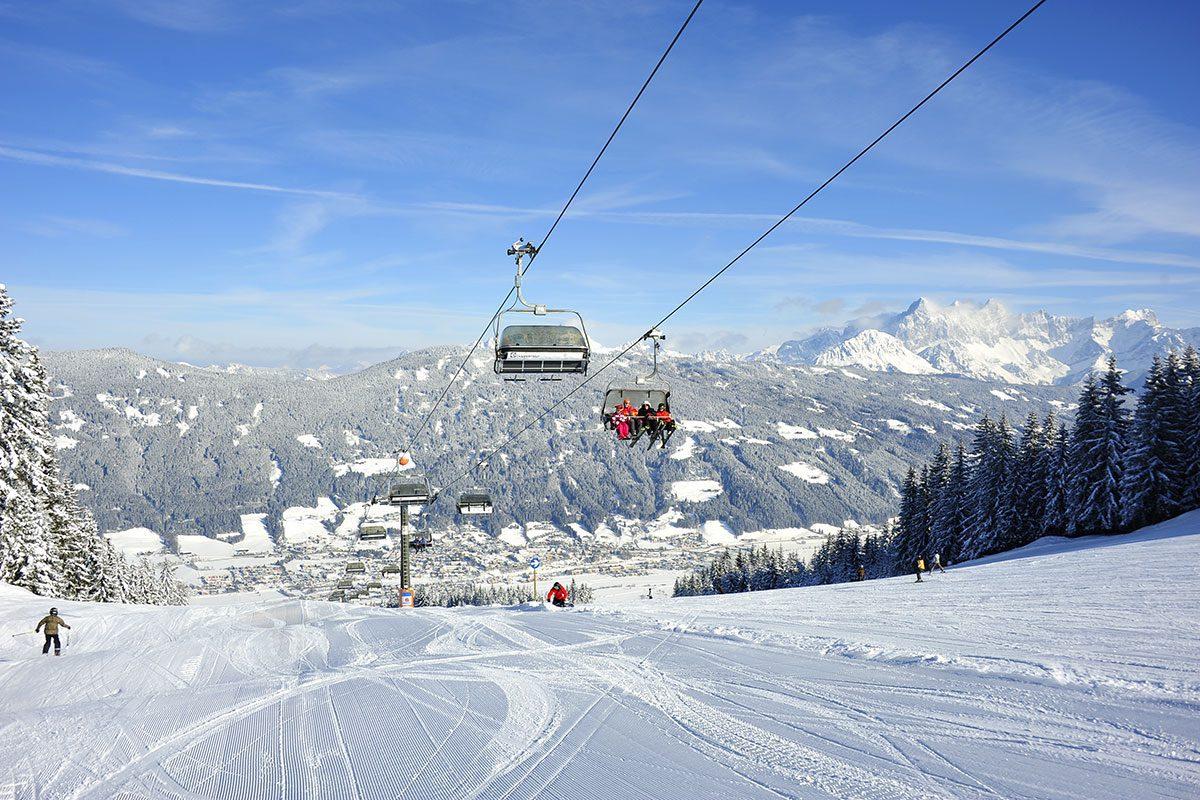 skiing - ski amadé - hotel taxerhof - radstadt